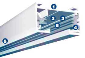 Asl e1 series single circuit 120v track lighting system altman request demo aloadofball Choice Image