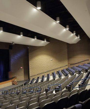 Schaumburg Prairie Center For The Arts Altman Lighting