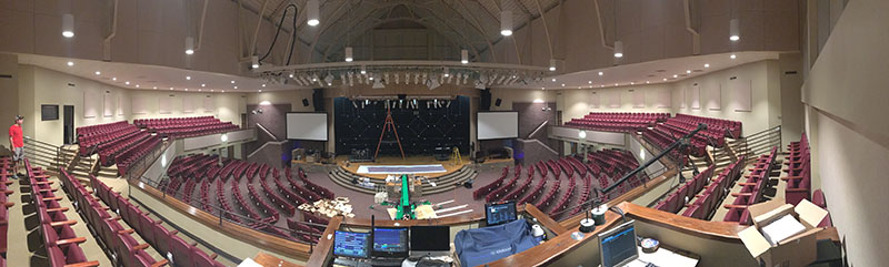 Bringing House Lights To Cascade Hills Worship Experience