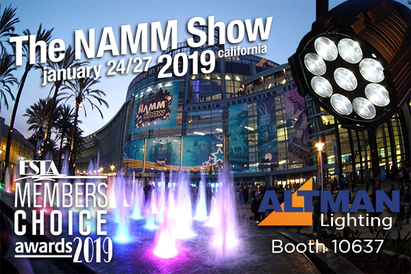 Altman at NAMM 2019