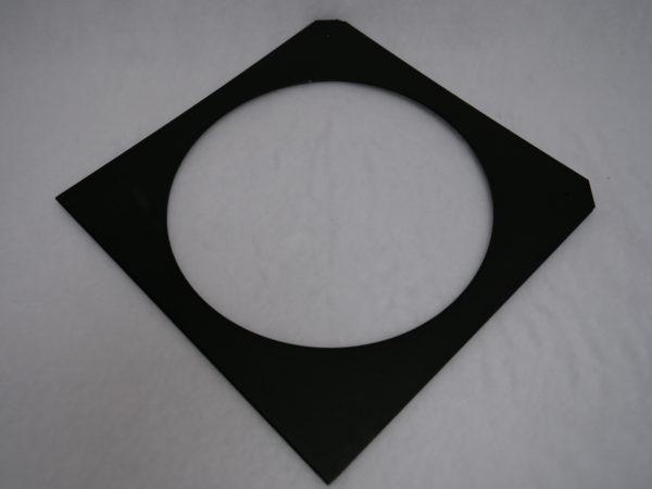 10-CFB---Color Frame 12 X 12 BlackPaint Altman Lighting